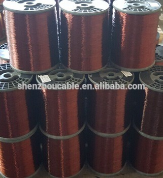 enamelled copper clad aluminum wire (ecca wire) , winding wire, used for  motors, transformer, coils