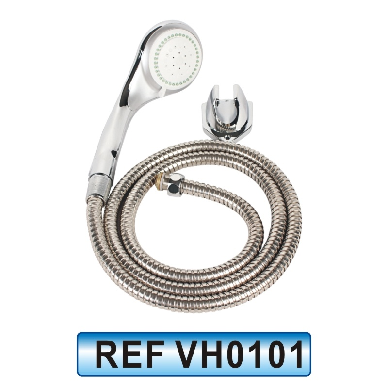China Stainless Steel Hand Shower Head with Telephone Type Hose ...