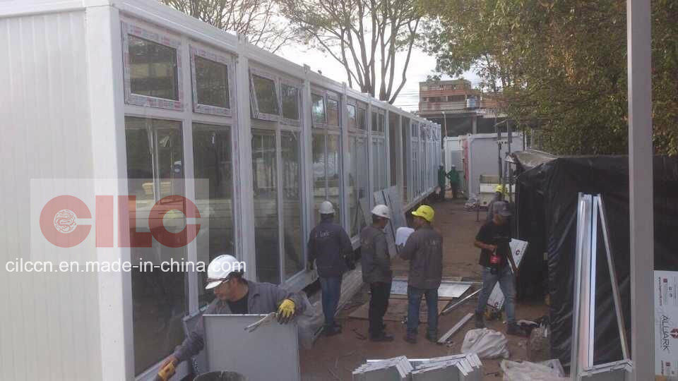 Modular / Mobile / Prefab / Prefabricated Building for Bogata University Project