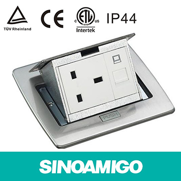China Floor Box Outlet Ground Power Receptacle - China Floor Box ...