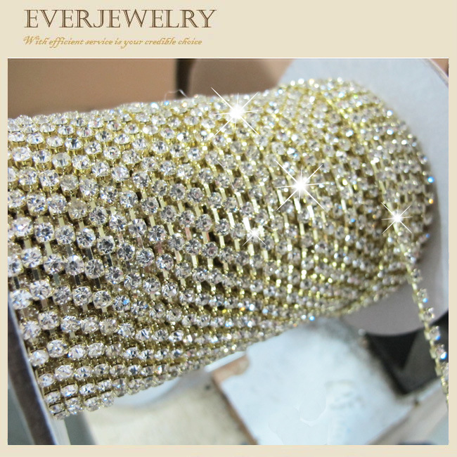 891f4e0280fb China Hot! ! ! New! ! ! Crystal Cup Chain in Roll for Dress, Shoes ...