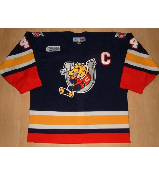 Personalized Ohl Barrie Colts Jersey Smith Crombeen Embroidered Hockey  Jerseys 001bed7af