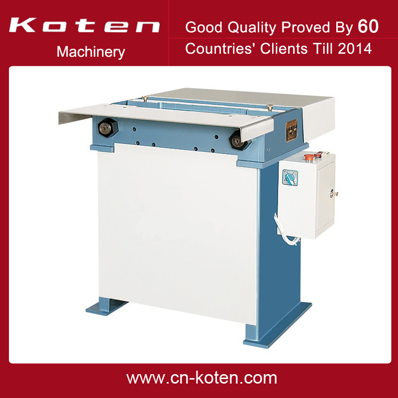 Soft Cover Book Spine Press Machine After Sewing