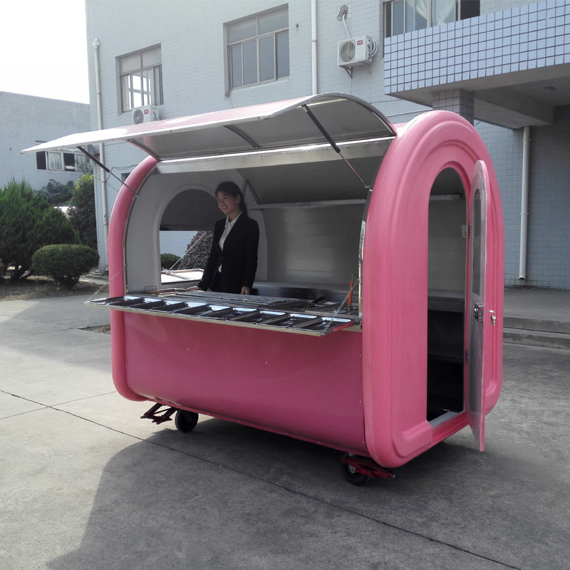 China Durable And Cheap Street Mobile Fast Food Vending