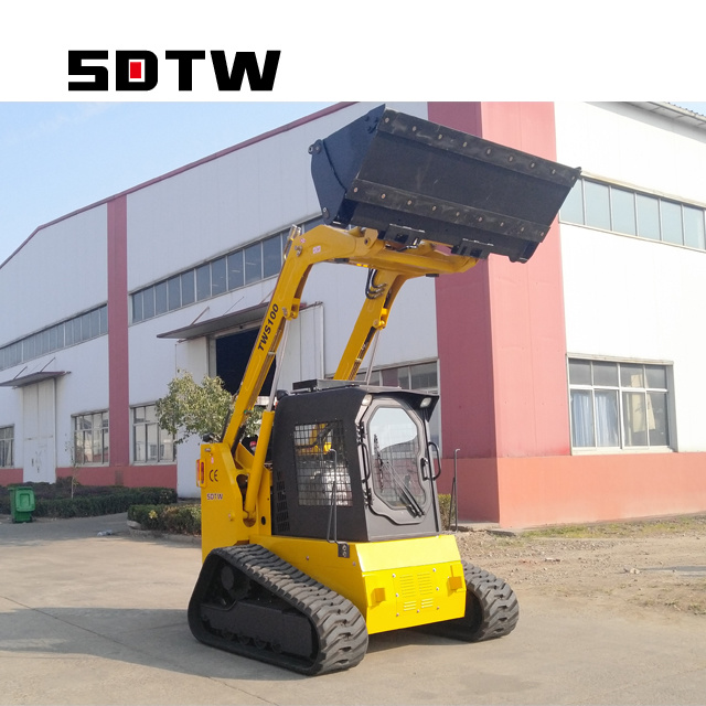 [Hot Item] Best Price of Chinese Tws100 Track Mini Skid Steer Loader for  Sale