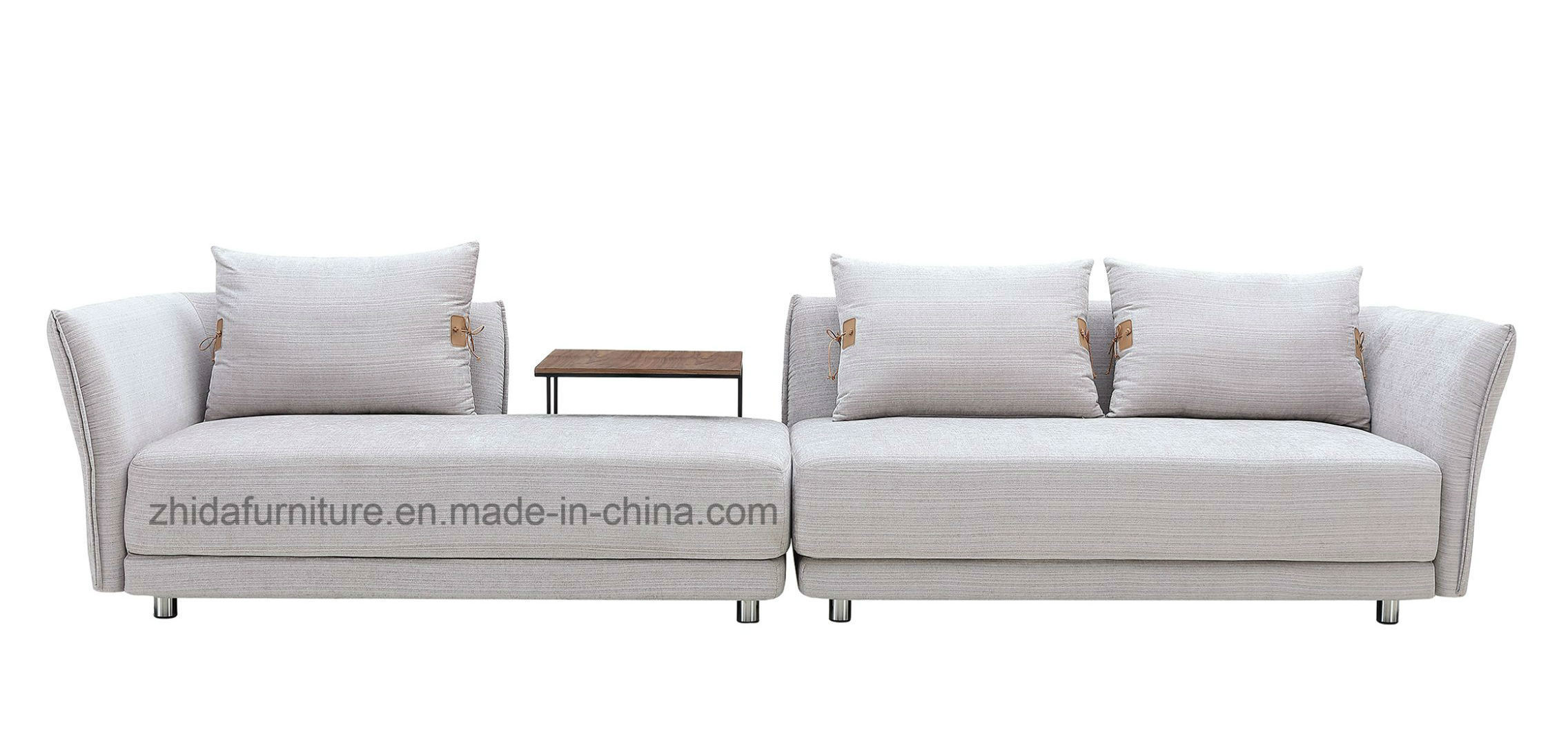 Picture of: China Modern L Shape Fabric Sofa China Indoor Furniture Sectional Sofa