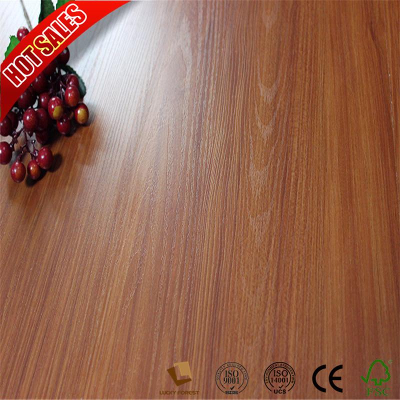 China Homebase High Glossy Laminated Flooring 12mm 8mm