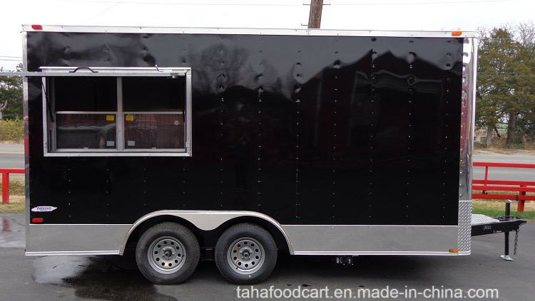 China Food Trailer/Mobile Kitchen Truck for Sale Best Quality Food ...