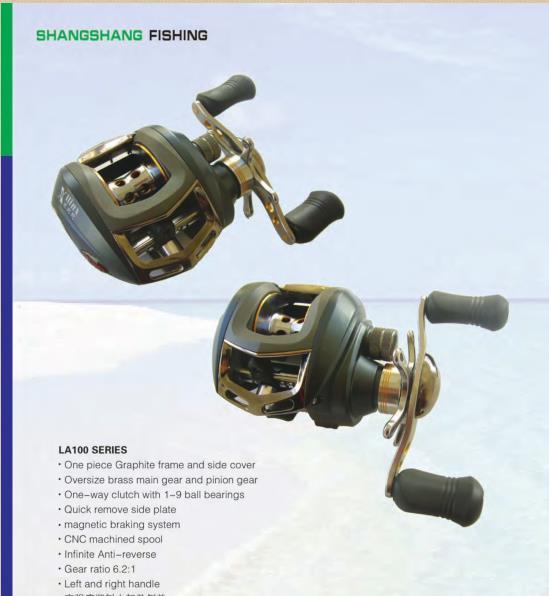 [Hot Item] Bait Casting Fishing Reel Outdoor Sea Saltwater Fish
