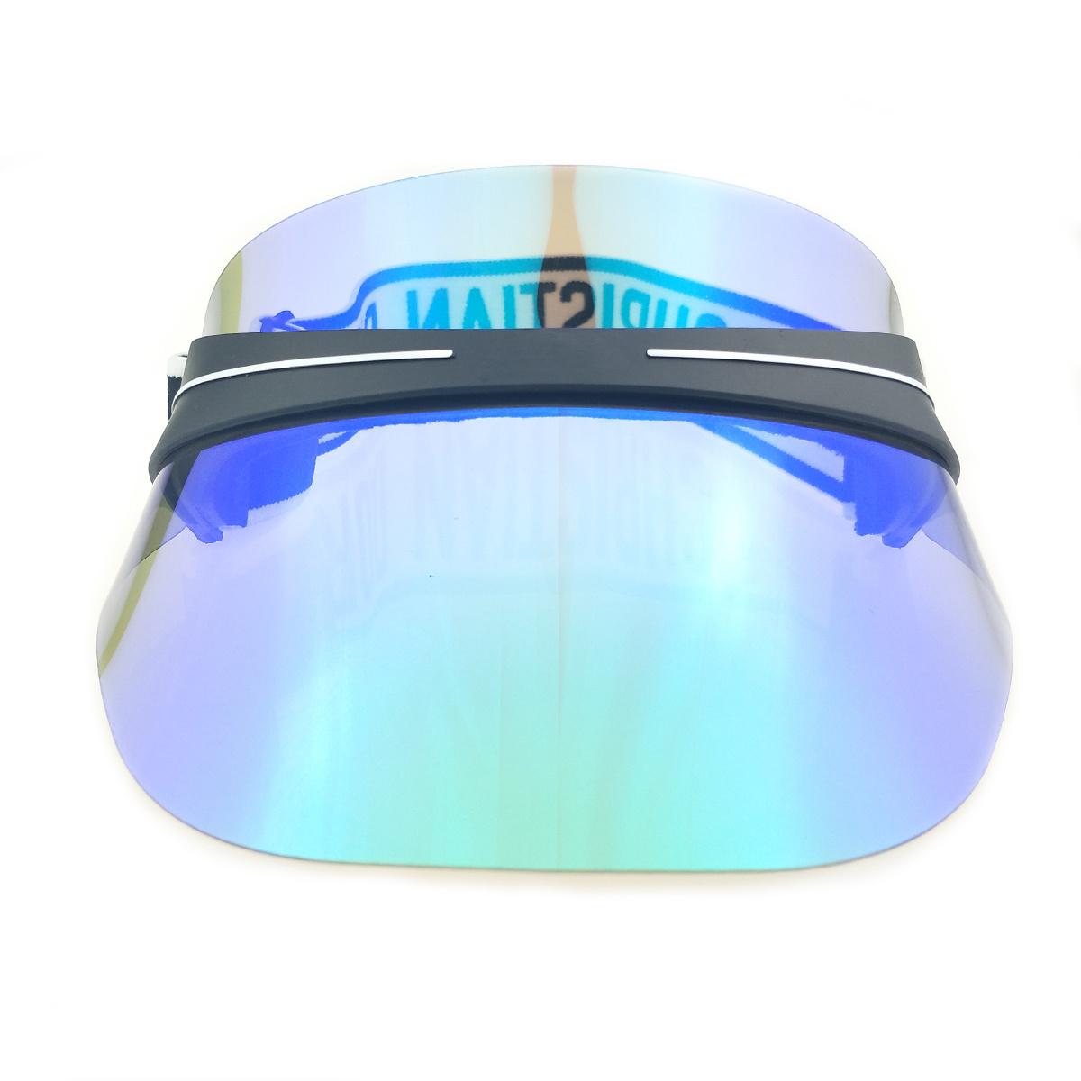 288b8b7b2069b New Design Fashion Wholesale Waterproof UV Protection Custom Plastic Sun  Flat Long Bill Visor Cap Hat Material