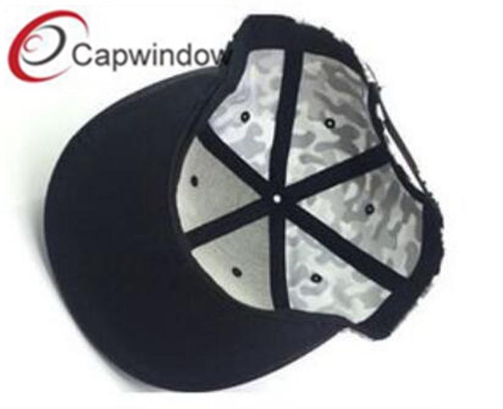 db53d3c30d9 China PU Leather Snapback Hat with Custom Designed Logo Photos ...