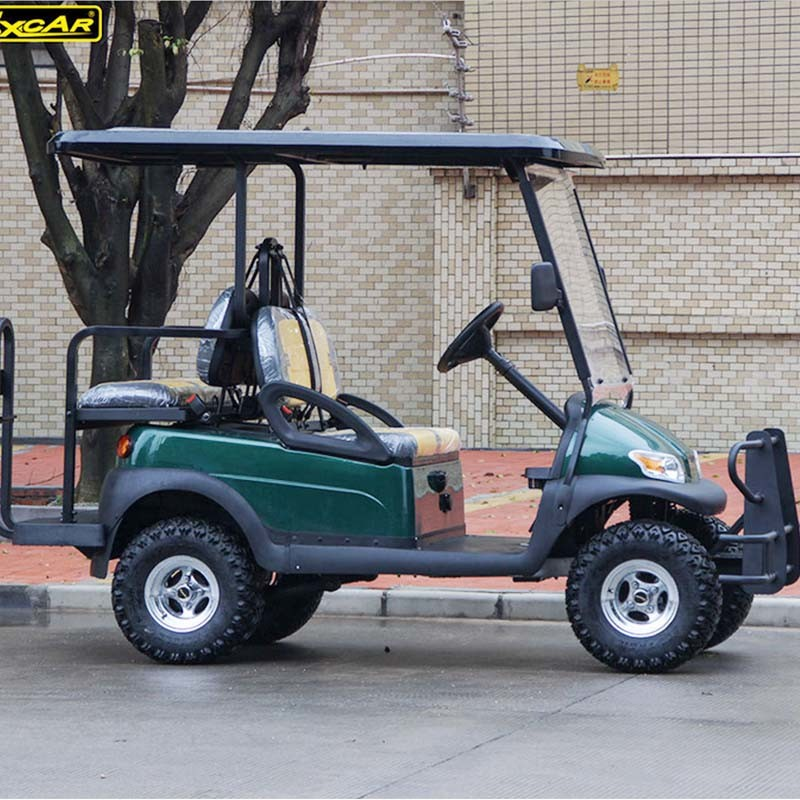 48V Battery Operated 4 Seater Hunting Golf Cart for Sale pictures & photos