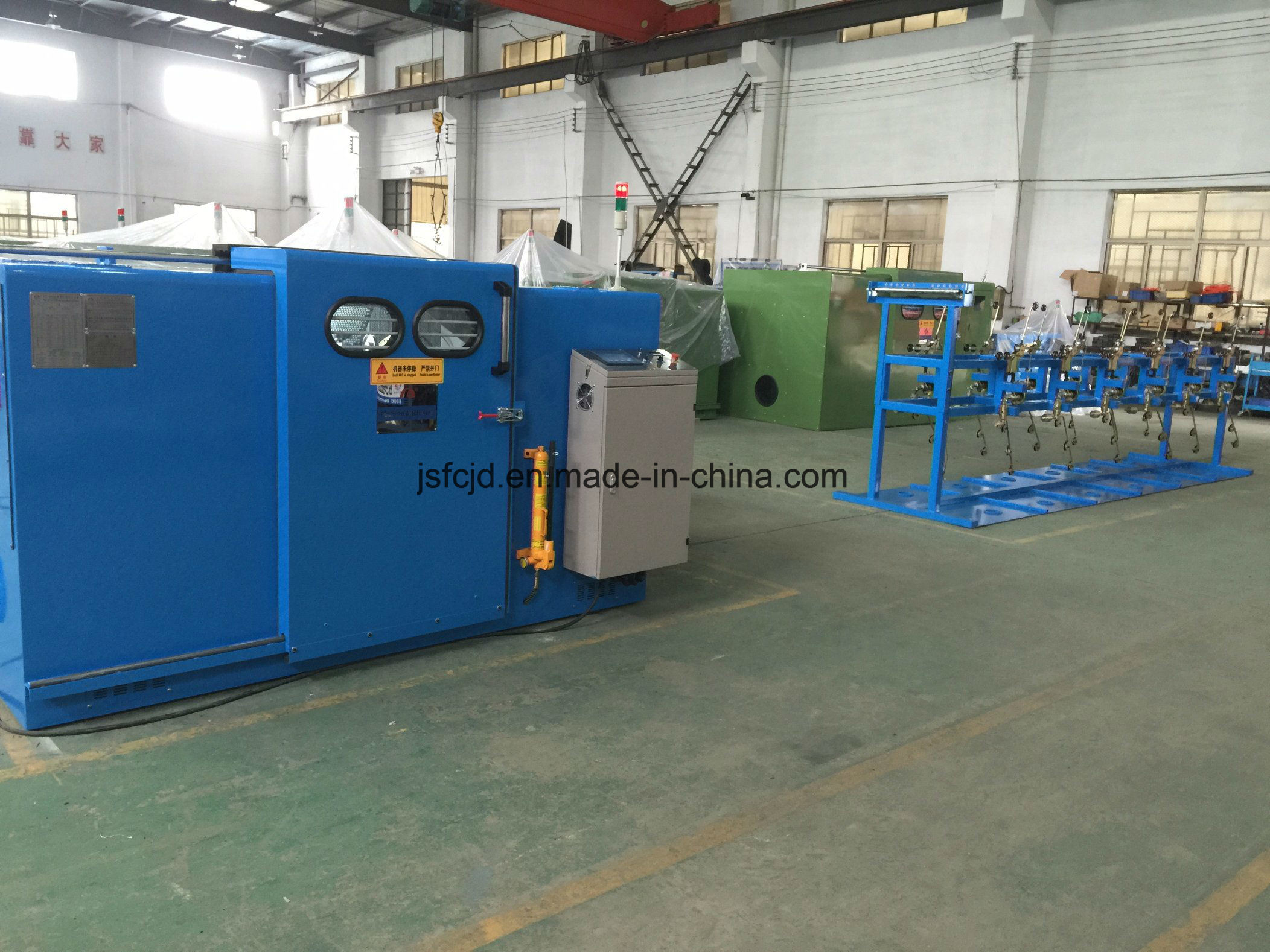 Multiheads Core Wire Passive Pay off Machine