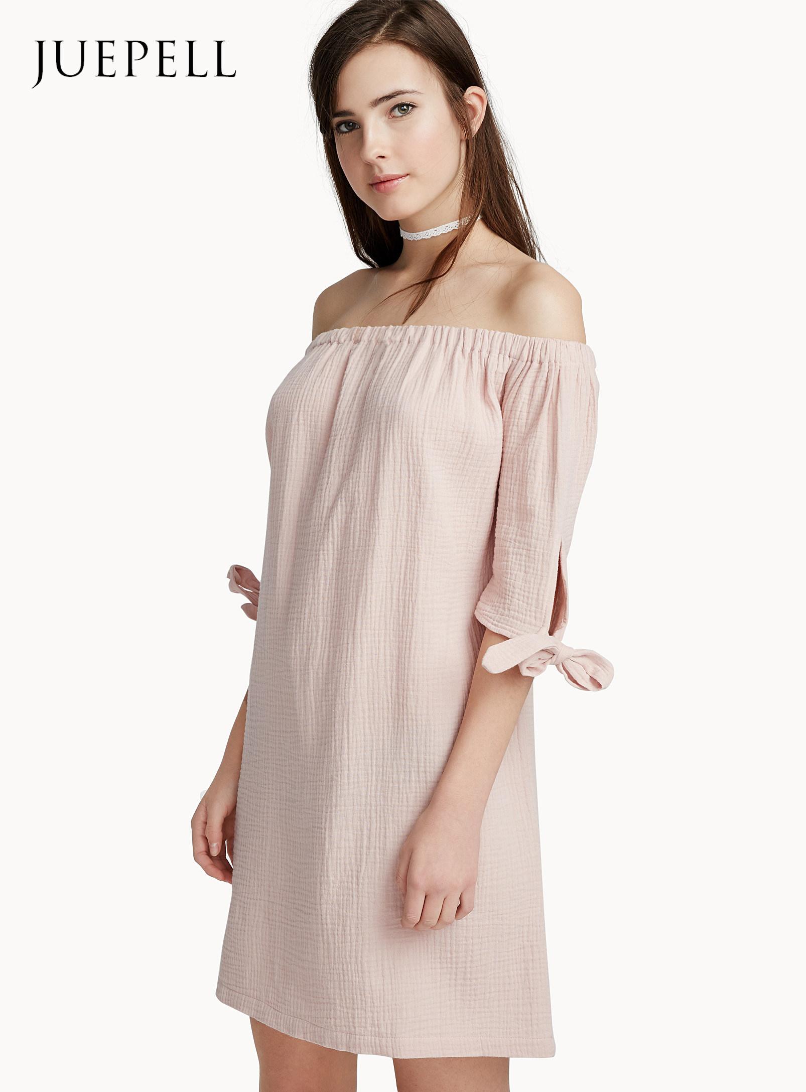 [Hot Item] Peaceful off Shoulder Plus Size Dress