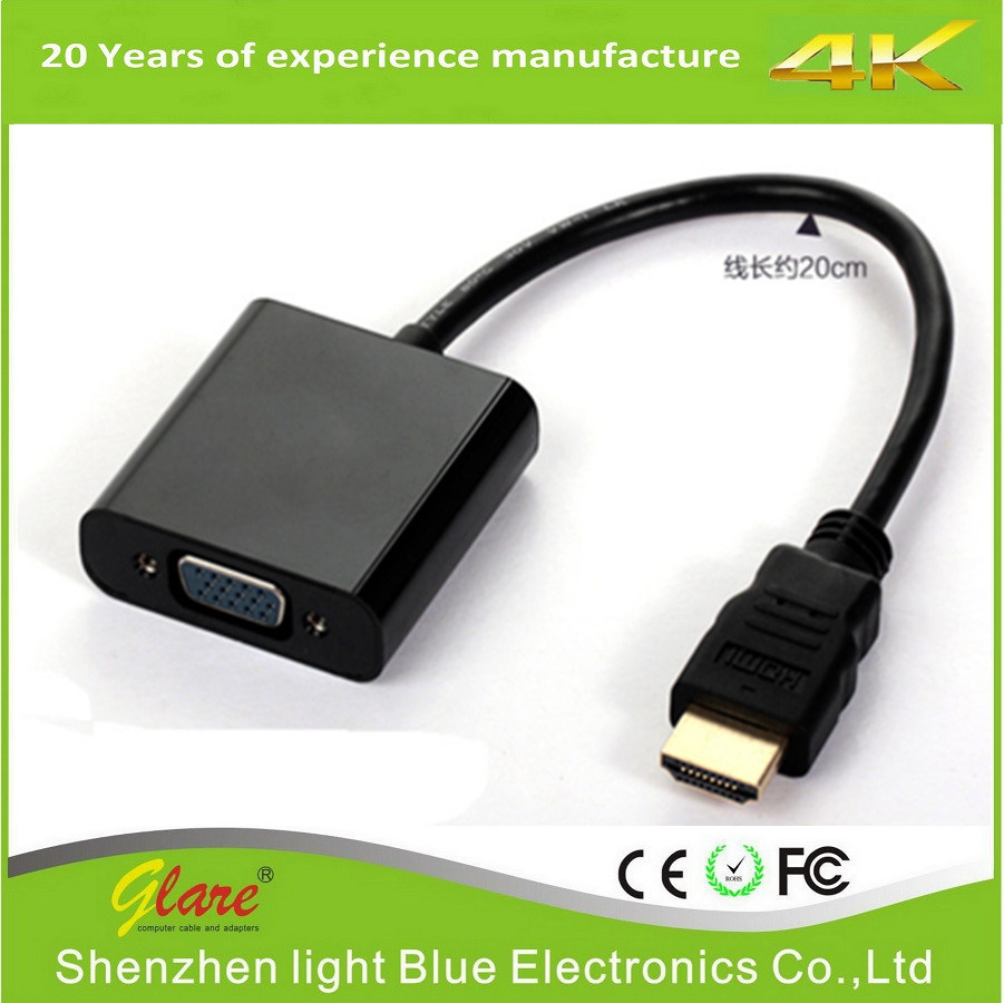 for MacBook 1080P HDMI to VGA Adapter Cable pictures & photos