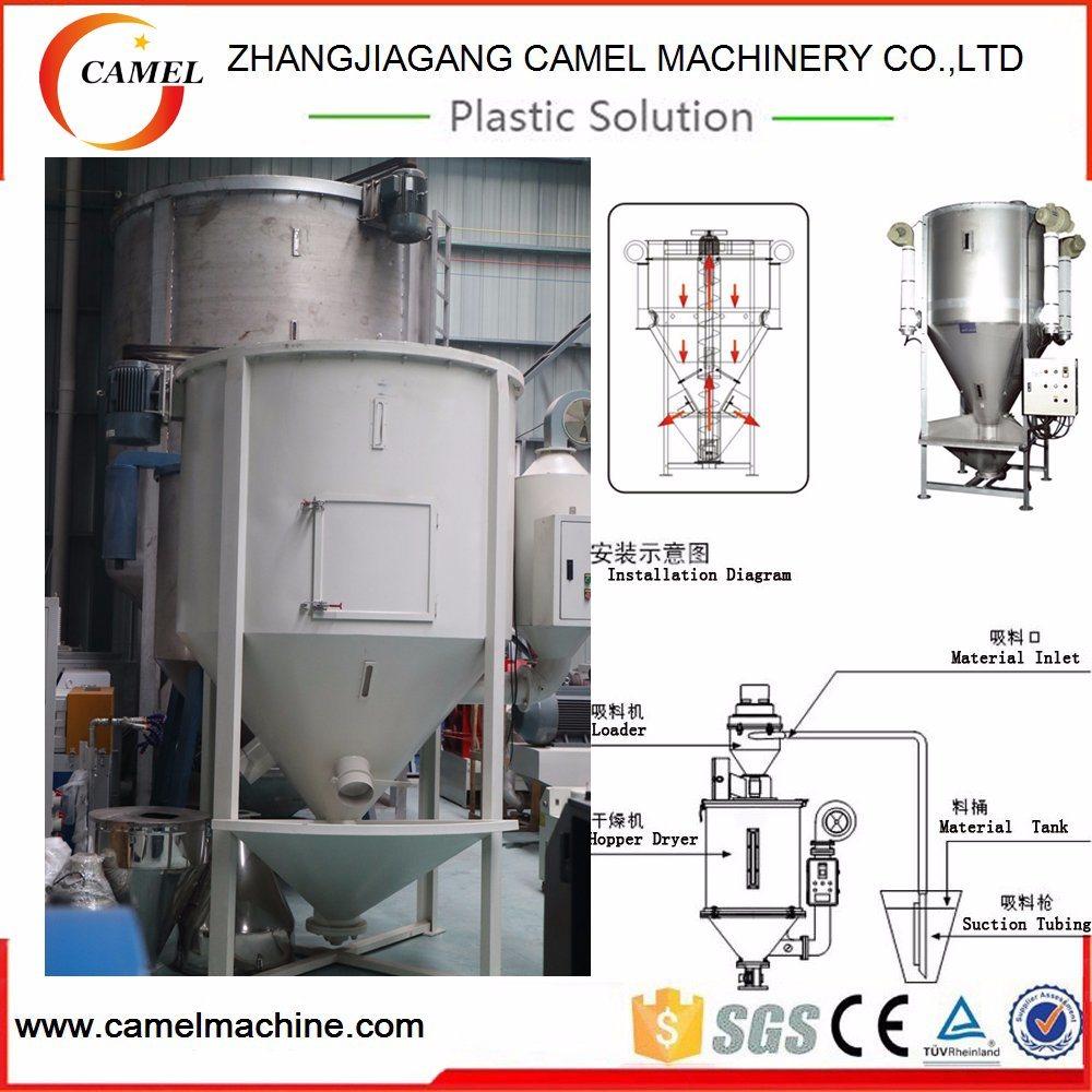 China Plastic Heating Vertical Color Mixer/Drying Mixer/Blender ...