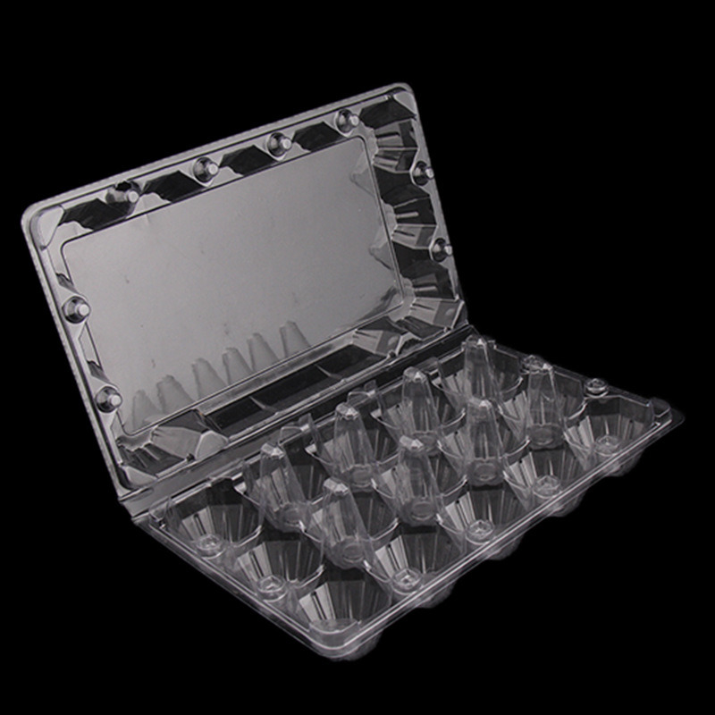 dispose transparent food packing plastic egg tray(PVC tray)