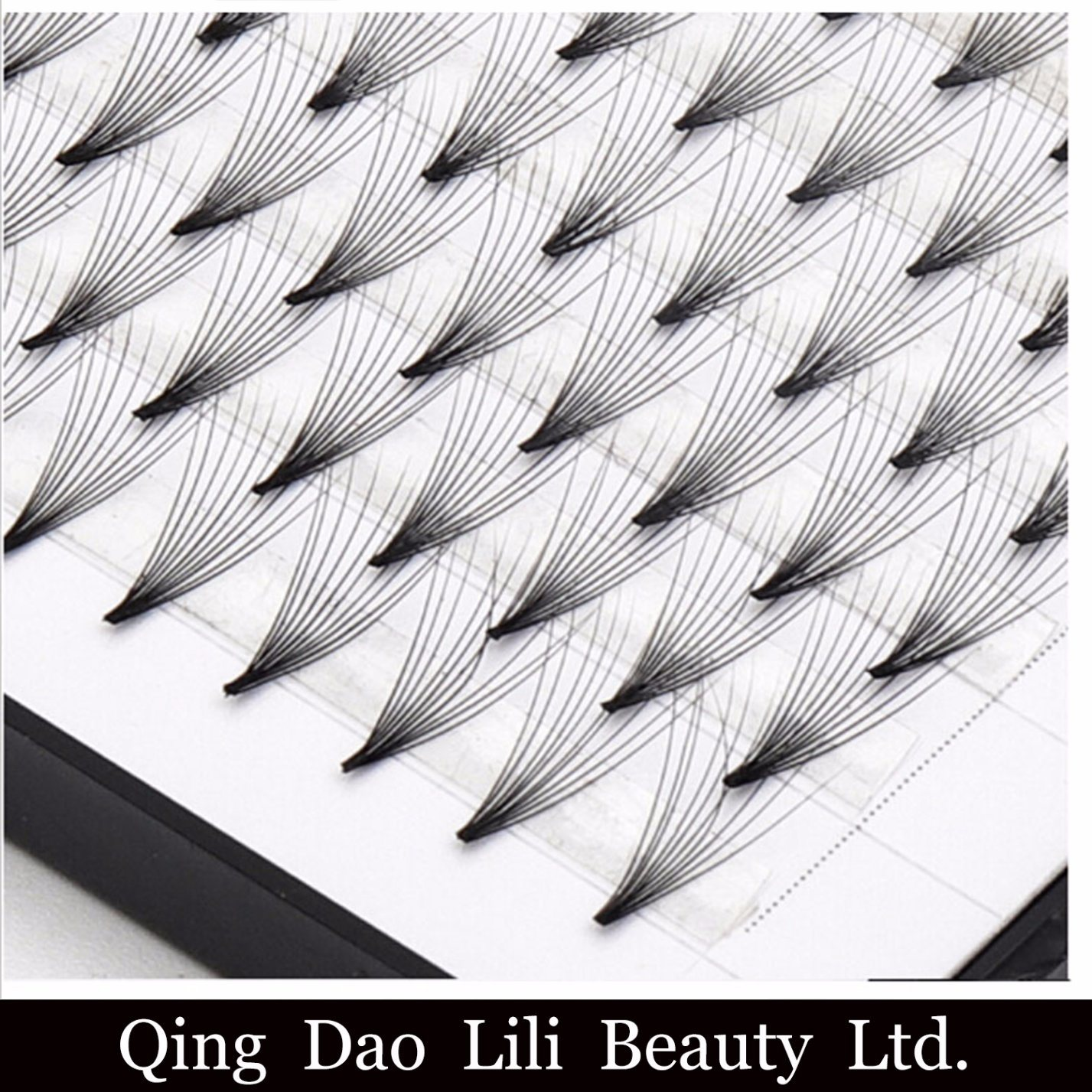 China 0 10mm 0 07mm Premade Volume Lashes Fans Individual 3D