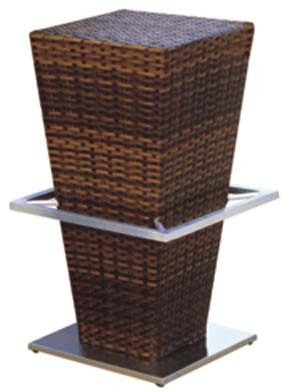 Modern Design Rattan Bar Table and Stool for Outdoor Furniture pictures & photos