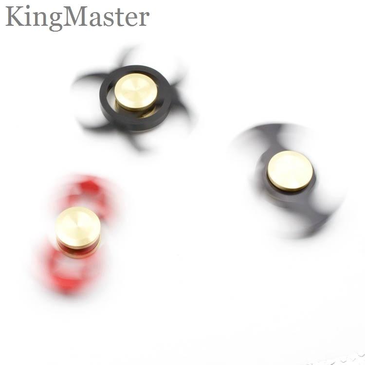 Black Batman Fidget Spinners Aluminum Portable Hand