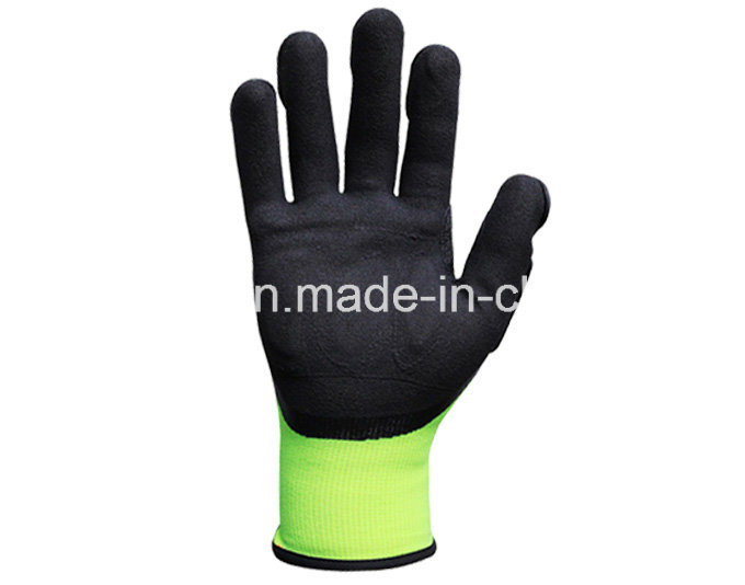 Hi-Vis Yellow Anti-Impact Work Glove with TPR (TPR9003)