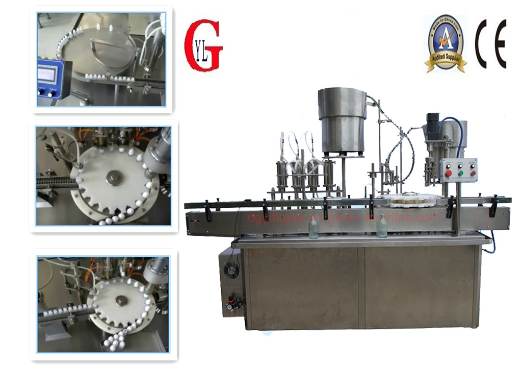Eye Drops Automatic Rotary Filling Machine (YLG-8-2)