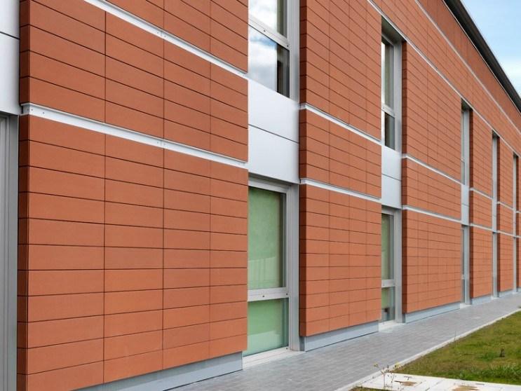 China Green Clay Material Exterior Wall Terracotta Panels