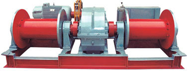 Double Drum Winch Split One Drum or Separate Two