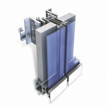 China Unitized Curtain Wall And Curtain Wall System Cs Ct