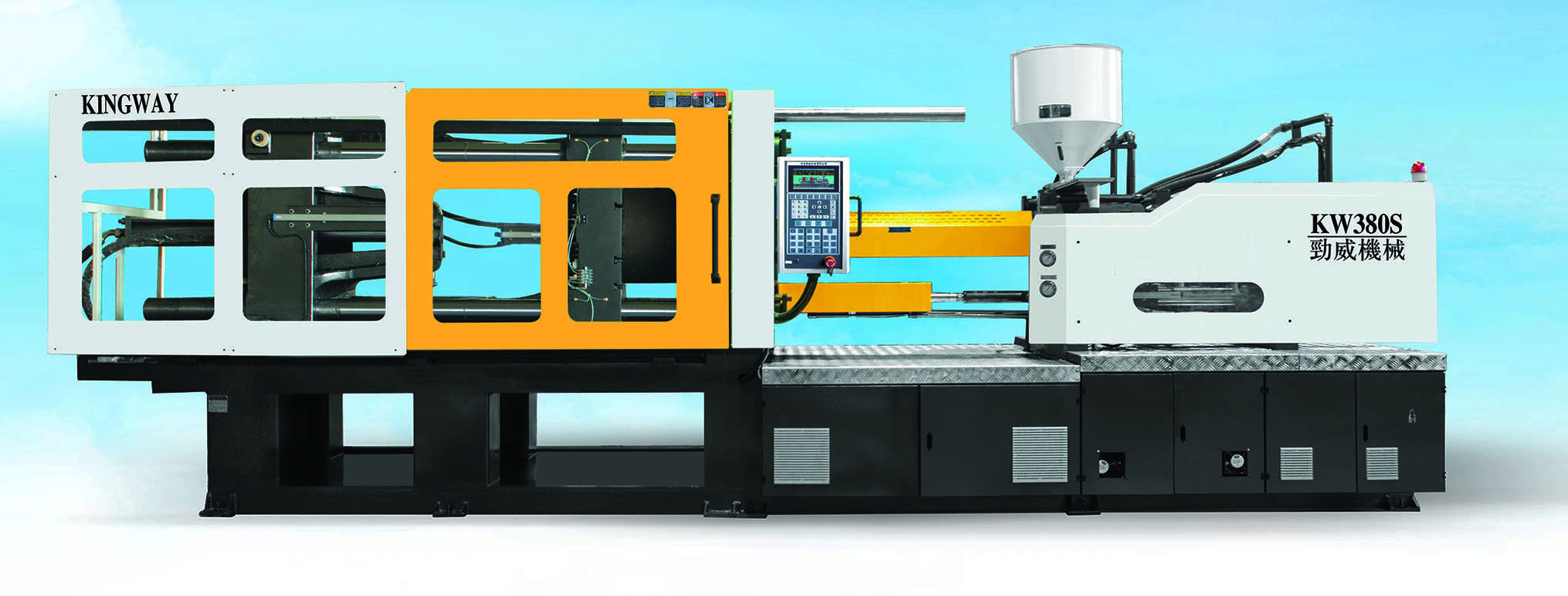 338t High Performance Plastic Injection Molding Machine