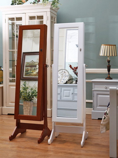 China Jewelry Cabinet With Dressing Mirror 5001 China