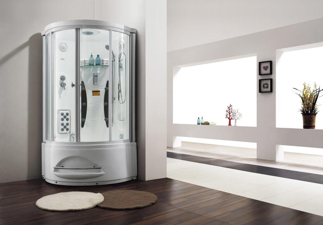 China 1 2 Person Freestanding Acrylic Fiberglass Shower Cabinet (M ...