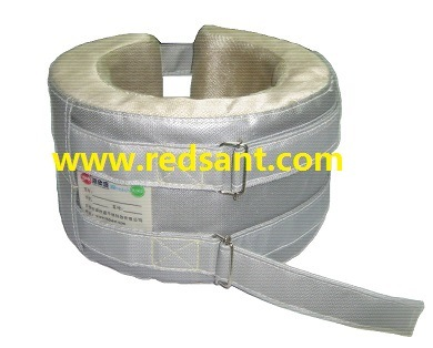 Fiberglass Removable Pipe Thermal Insulation Jacket & Covers