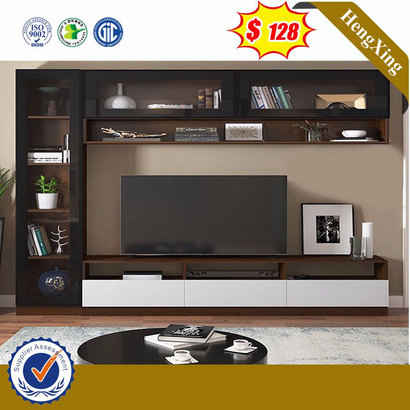 China Modern Simple Mdf Living Room Furniture Set Side Table Book Shelf Led Tv Stand Wall Unit Tv Cabinets China Tv Cabinets Coffee Table