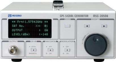 China GPS Signal Generator (MSG-2050A) - China Generator, Gps