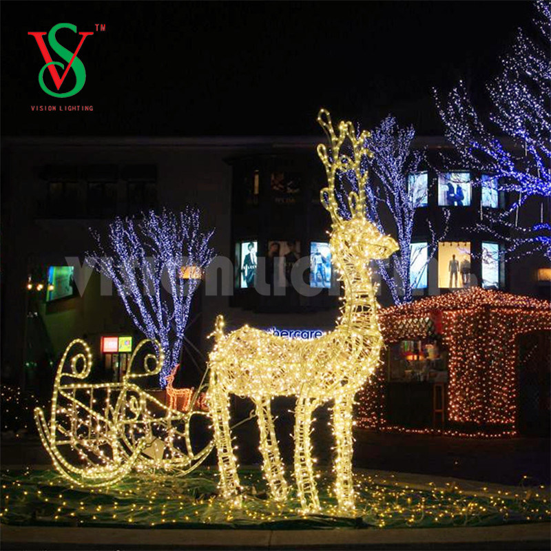 Winter Christmas Decoration Lights Led