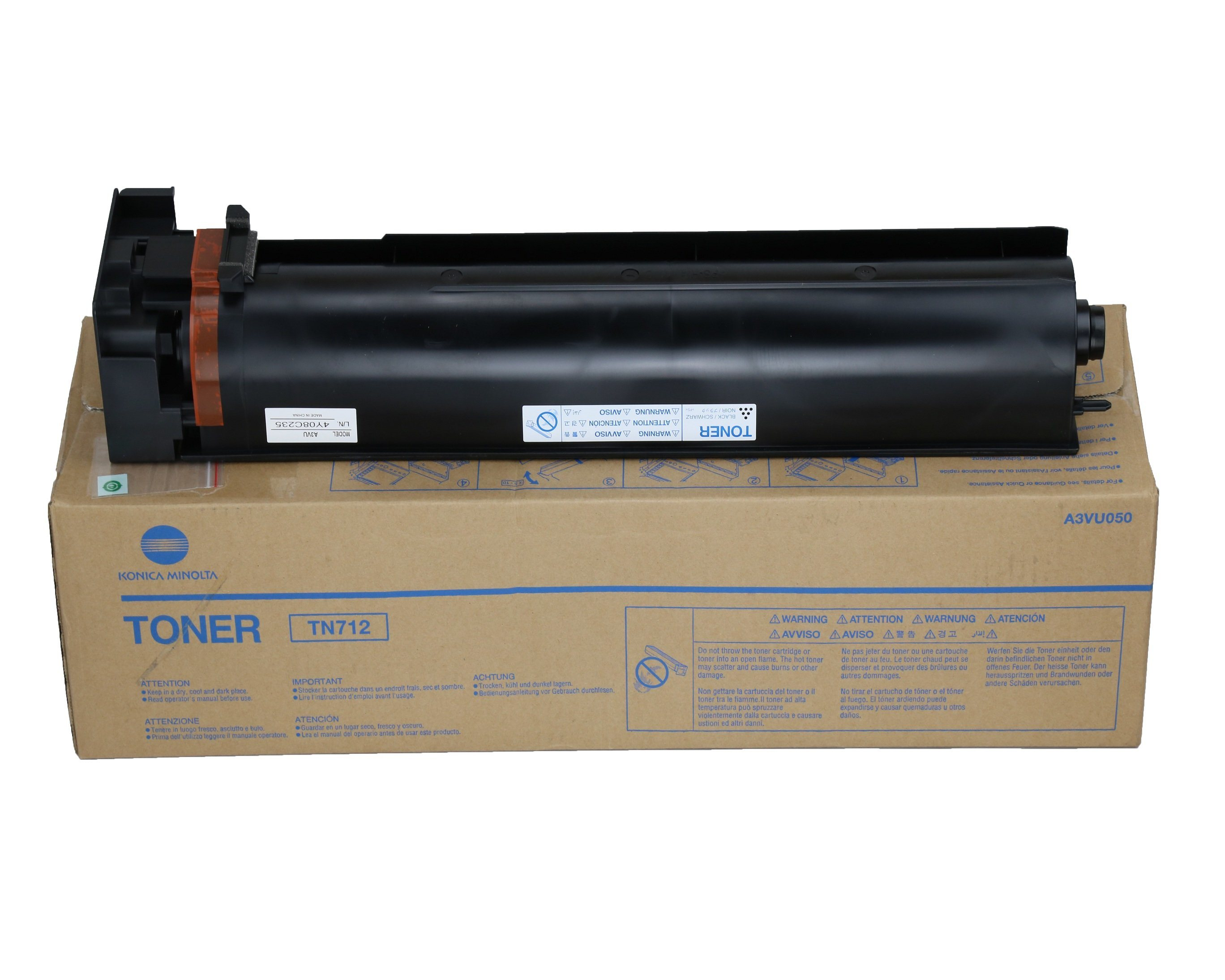 China New Compatible Toner Cartridge Tn712 for Konica Minolta Bizhub  654/654e/754/754e - China Konica Minolta Toner Cartridge, Tn712