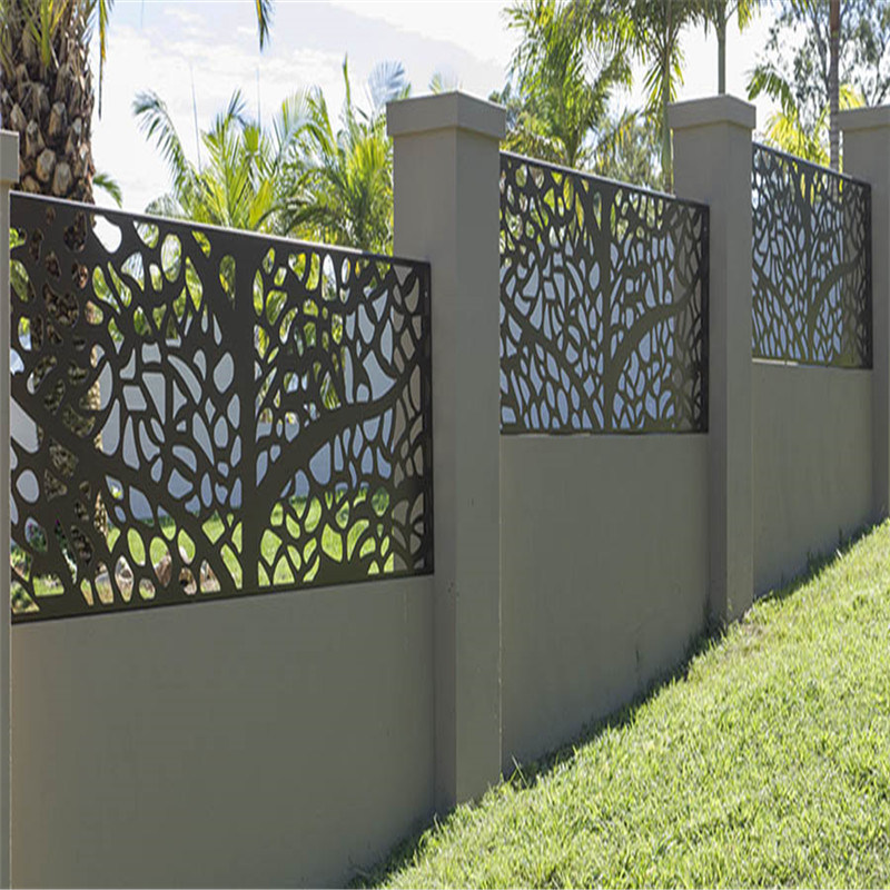 China Safety Fence Metal Fence Aluminium Fence Panels Aluminum Slat Fence China Slat Fencing Metal Fence