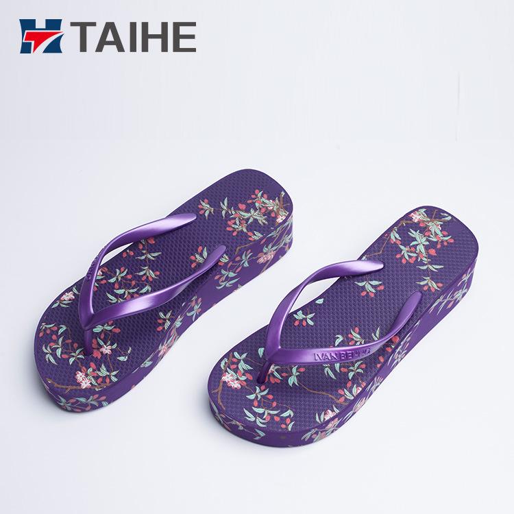 6384ac7f5b6 China Fashion Sexy Girls High Heel Flip Flops Women Wedge Sandals - China Flip  Flops