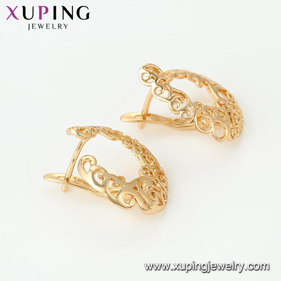 China 64895 Fashion Jewelry 18K Gold Plated Jewelry Set Photos