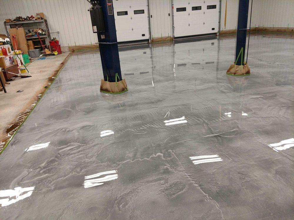 Metallic Epoxy Flooring 21 Kg Kit