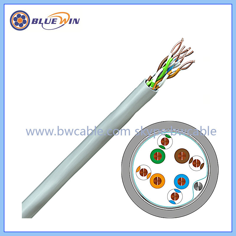 China 1000m UTP Cat5e LAN Cable Join 2 Cat5e Cables Join 2 Network ...