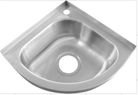 Merveilleux Stainless Steel Topmounted Small Corner Sink (BM36)
