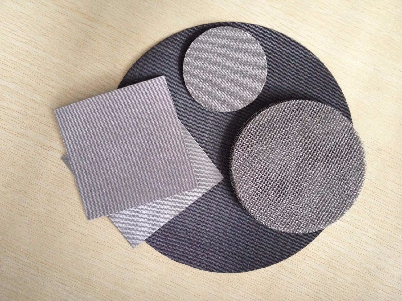 304 316 20 200 Mesh Stainless Steel Round Filter Screen