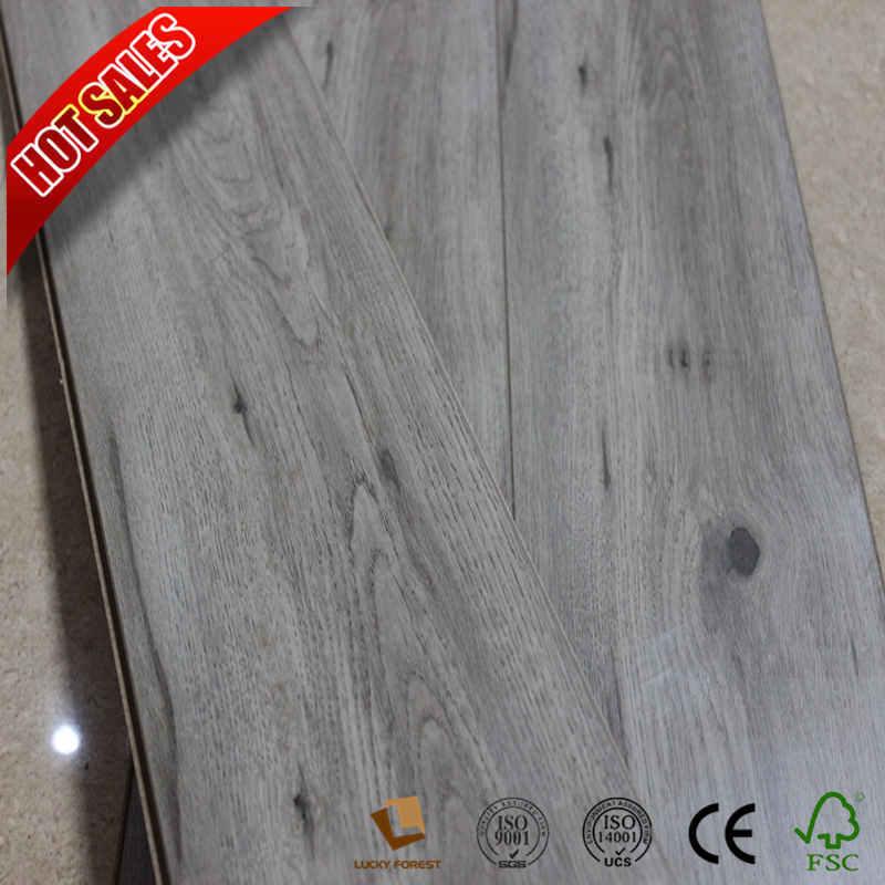 China Cherry Wood Easy Lock Laminate Flooring Hardwood Building Material