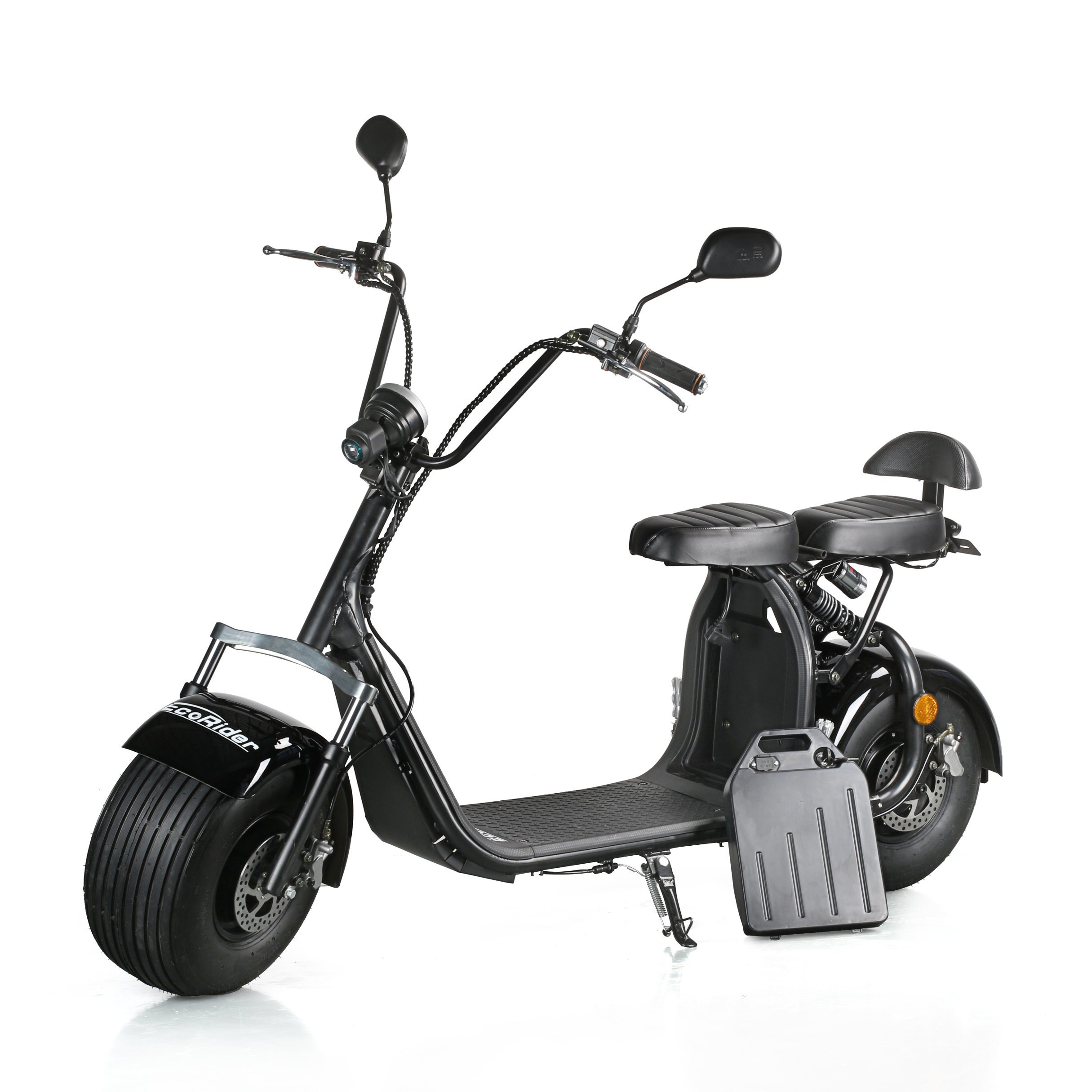 China Eec Roved Electric Scooter Two Wheel With 2 Seat