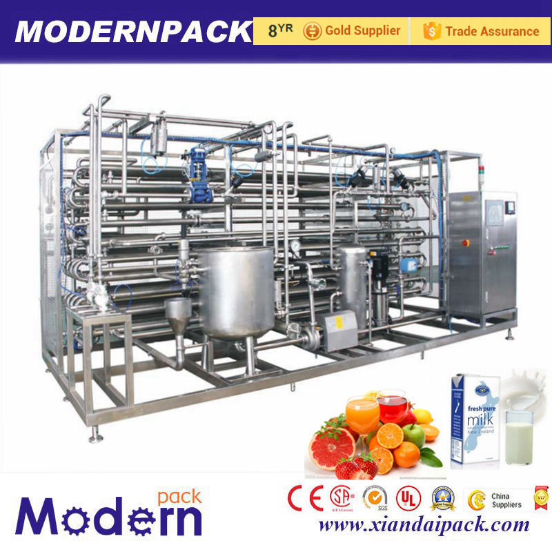 2016 Best Selling Milk Machine Uht Dairy Sterilizer Machine