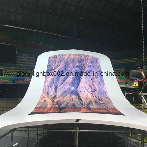 Fexible Rental P20 LED Screen Display LED Wall