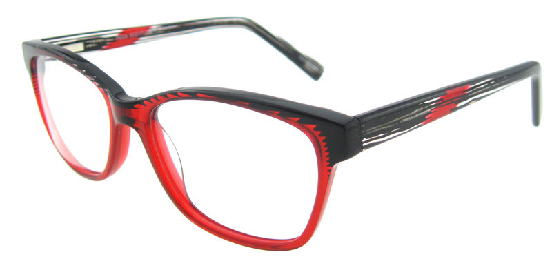 dbbcb4db13 New Model Italian Acetate Eyewear Double Colors Optical Eyewear Frame with  Ce