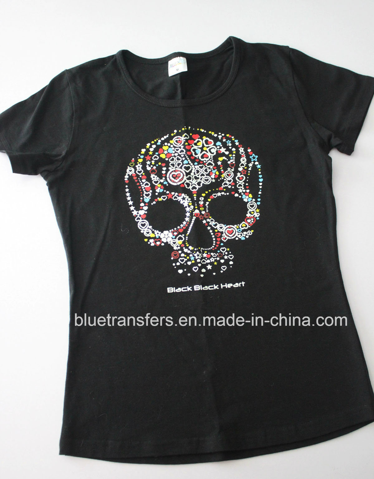 China iron on heat transfer stickers for fashion t shirts china iron on stickers iron on heat transfer stickers